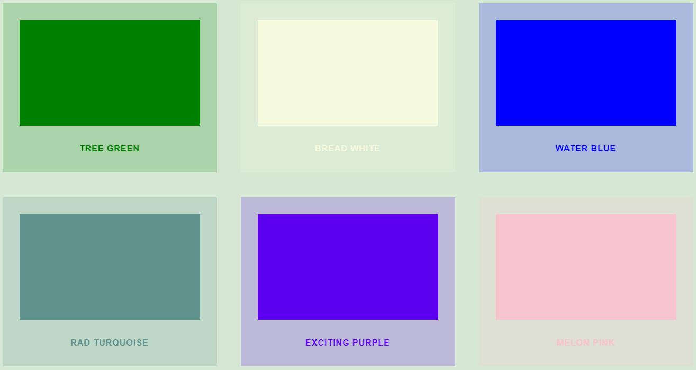 いつ使うの?イケてない色を紹介しているサイト「terrible colors」
