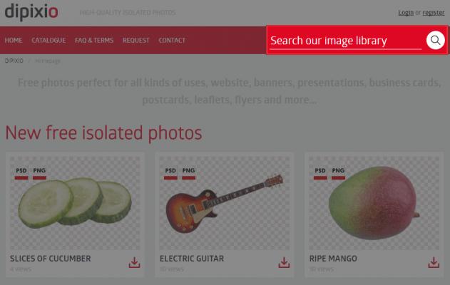 画像のキーワード検索