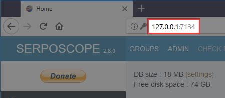 Serposcopeのエラー回避