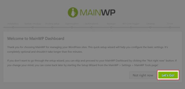 MainWPの設定