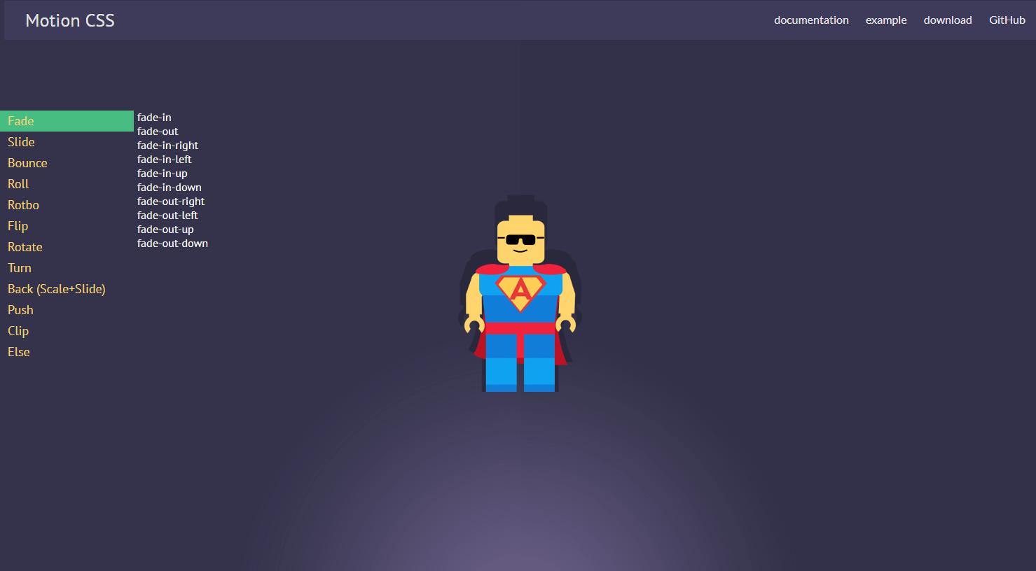 要素にアニメーションエフェクトを加えることができるCSSライブラリ「Motion CSS」