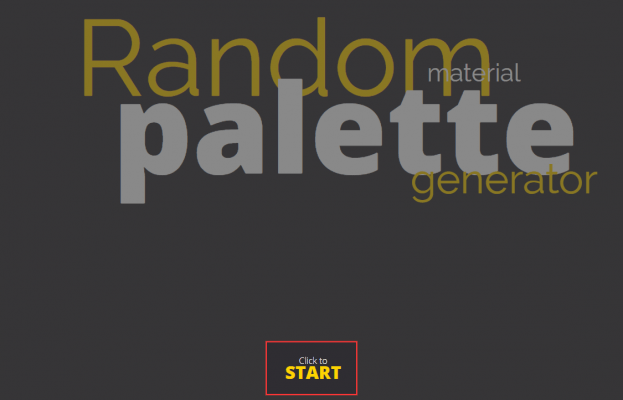 Random Material Palette Generatorの使い方