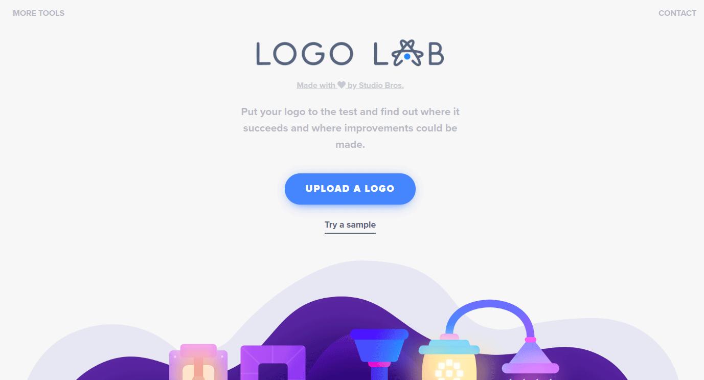 ロゴのバランスや視認性をチェックできるWEBサービス「Logo Lab」