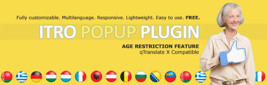 サイトにアクセスした時に年齢認証やキャンペーンなどのポップアップを表示できるWordPressプラグイン「ITRO Popup Plugin」
