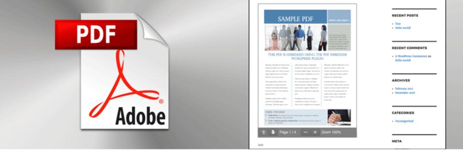 PDFファイルを投稿内に埋め込み表示できるようになるWordPressプラグイン「PDF Embedder」