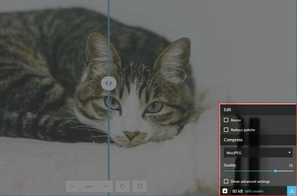 画像圧縮のツール