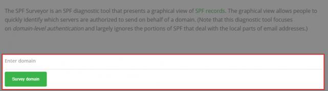 SPF Surveyorの使い方