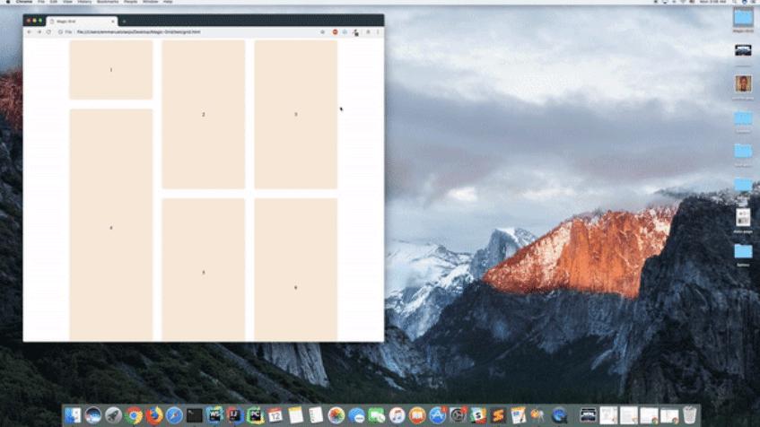 高さの異なる要素もグリッド型で綺麗に配置することができるJavaScriptライブラリ「Magic Grid」