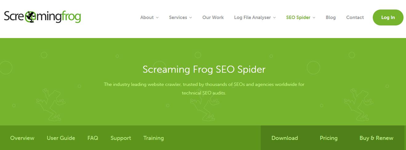 サイト内のURLやタイトル、メタ情報の一覧を一括取得できるツール「Screaming Frog SEO Spider Tool」