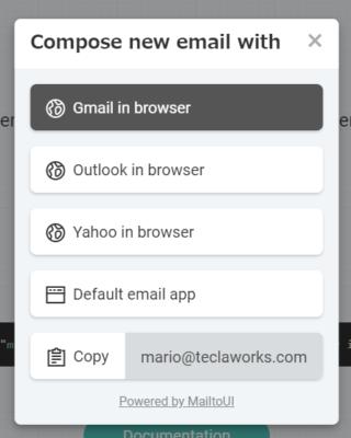 mailtoリンクのクリック