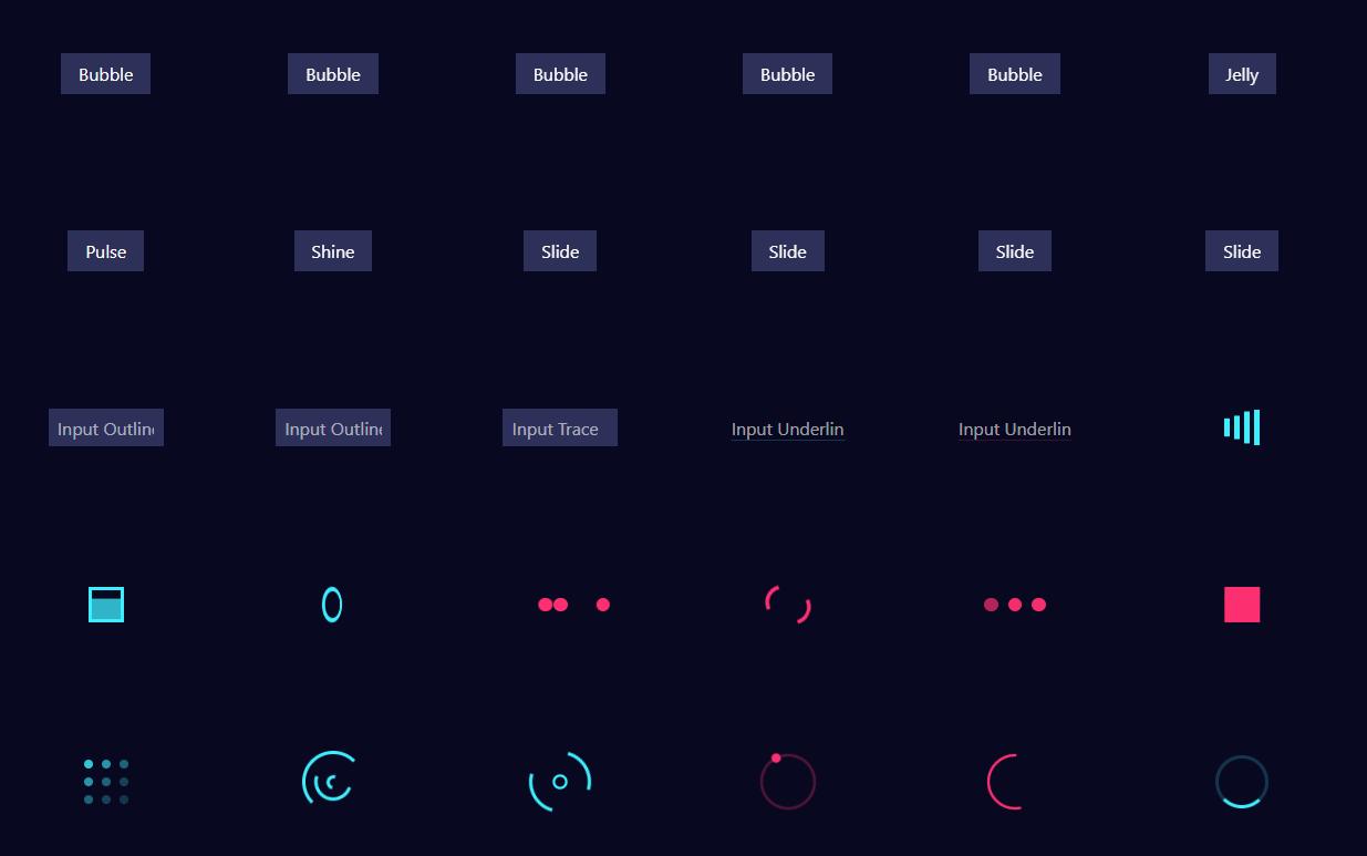 アニメーションエフェクトのHTML/CSSを簡単にコピーできる「CSSFX」