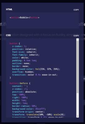 HTML/CSSのコードをコピー