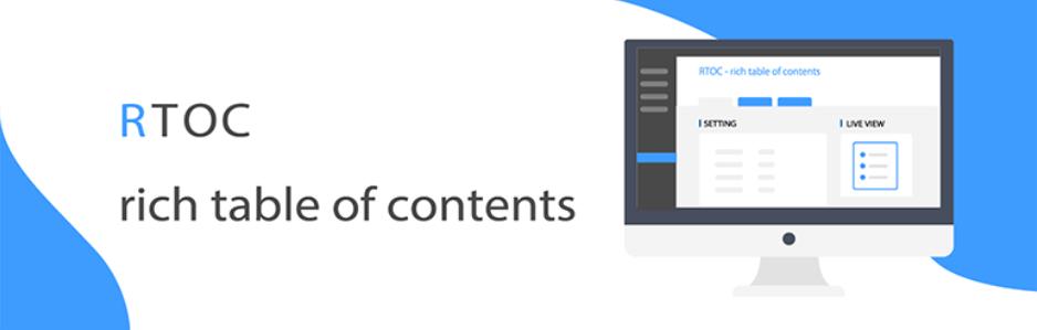 投稿や固定ページ内に目次を挿入できるWordPressプラグイン「Rich Table of Contents」
