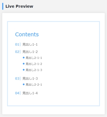 Live Preview