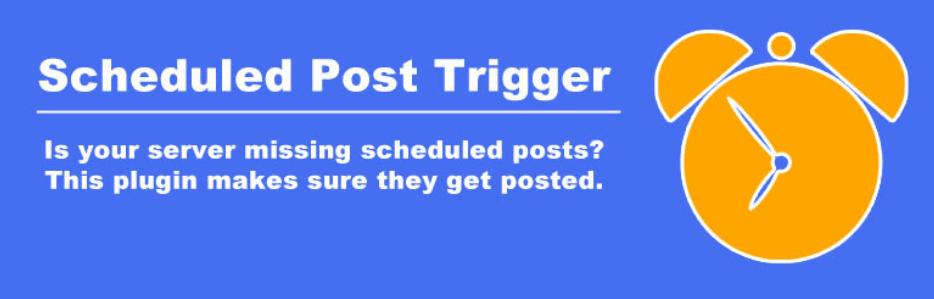 予約投稿に失敗していたら公開処理を実行してくれるWordPressプラグイン「Scheduled Post Trigger」