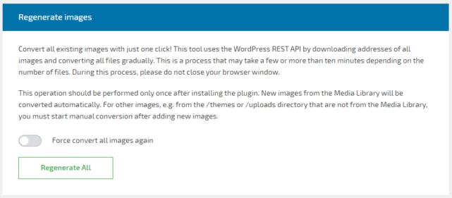 既存画像のWebPへの変換