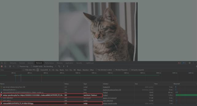 WebP Converter for Media画像フォーマットの確認