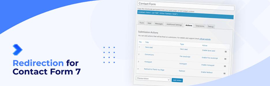 Contact Form 7でフォーム送信後のリダイレクト設定ができるWordPressプラグイン「Redirection for Contact Form 7」